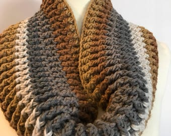 Cozy Ribbed Cowl | Winter Fashion Accessories | Crocheted