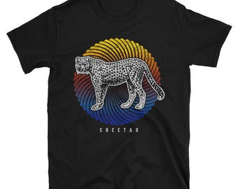 Love Cheetah Short-Sleeve Unisex T-Shirt