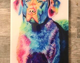 Chesapeake Bay Retriever Acrylic Print | Chesapeake Bay Art | Chesapeake Painting | Retriever Decor | Vet Office | Dog Decor | Acrylic Print