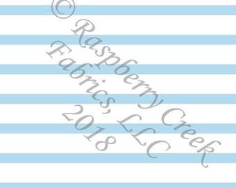 Lt Blue and White Stripes (PLEASE READ DESCRIPTION!)