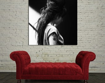 51 Poster Wall Mural Amy Winehouse Canvas & Stretcher Bars