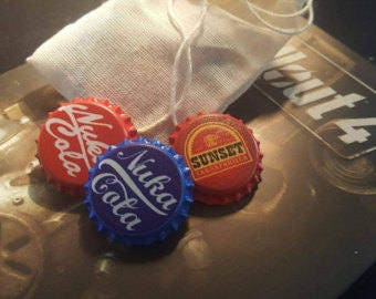 High Quality NUKA COLA CAPS Pins