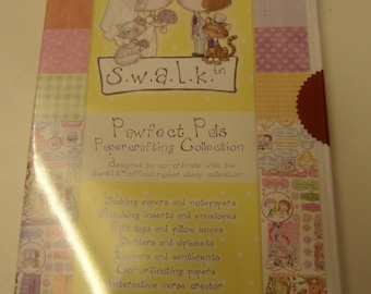 Crafters Companion Swalk Pawfect Pals papercrafting