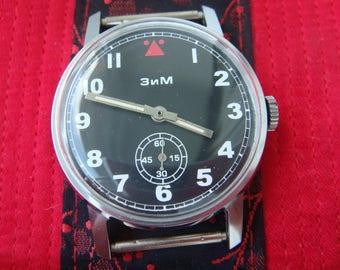 ZIM watch, Aviator watch, soviet watch, ussr watch, military watch, mens watch, russian watch, wrist watch, retro watch