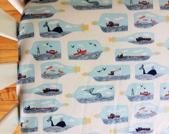 NAUTICAL CRIB BEDDING. Baby Boy crib Bedding. Whale crib bedding. Anchors crib sheet. Shark crib sheet. Navy Baby Bedding