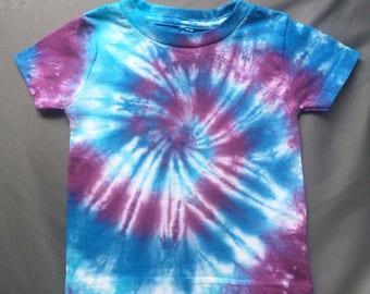 Baby Tie-Dye T Shirt, Size 18M, Toddler tie-dye, Cute Kids Tie Dye, Baby Blue tye dye, Hippie Baby Shirt, Baby Tye Dye T Shirt, RS0617241