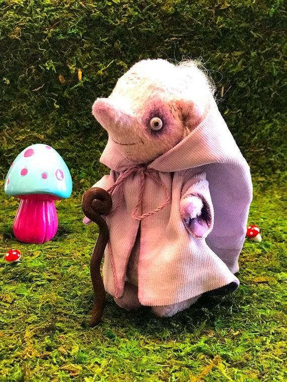 Hamdmade artist troll Wizard. Ready to ship.