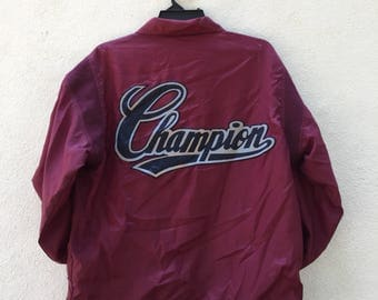 Champion big log jacket with number 35