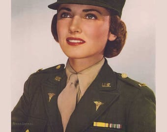 Army Poster, i want you, patriotic, us army, military, i want you poster, recruiting, wwii poster, military recruitment, army nurse corps