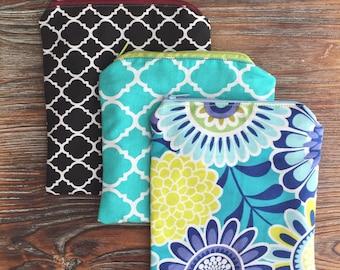 Zipper Bag (medium); Cosmetic Pouch; Coin Purse; Accessory Bag; Gift; Monogram; Storage; Organizer