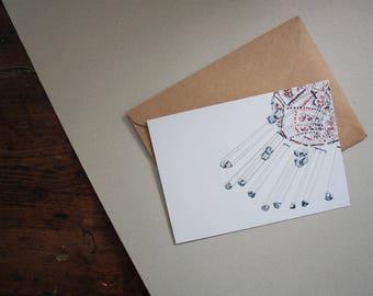 Postkarte • Kettenkarussell
