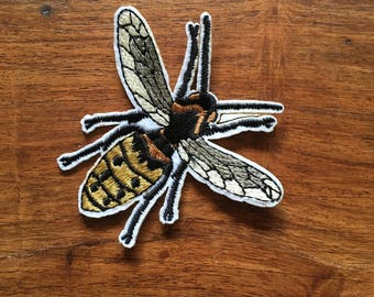 Wasp - Iron on Appliqué Patch