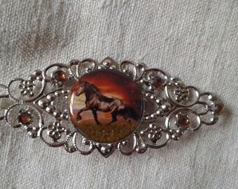 """brooch """"horse"""""""