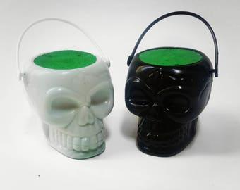 Mini Skull Bath Bomb - Halloween Bath Bomb - Skeleton Bath Bombs - Black Bath Bomb