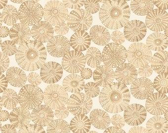 Mermaid Days - Urchin Garden Tan by Cori Dantini for Blend Fabrics - 1 yd