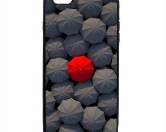 Umbrellas Print Pattern Phone Case Cover Samsung Galaxy S5 S6 S7 S8 Note Edge Apple iPhone 4 5 5S 5C 6 6S 7 8 X SE Plus LG G3 snap rubber