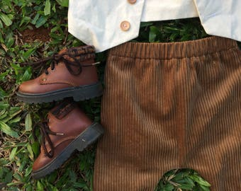 FOREST SET// corduroy and natural cotton