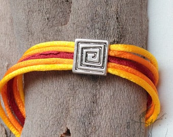 Bracelet fire of the Sun. Original design
