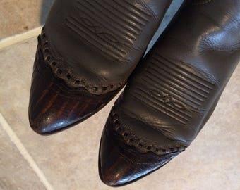 Vintage Tony Lama womens boots size 7C