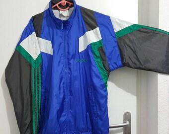 Sport jacket Adidas Vintage early 90 size M (174cm) like new.