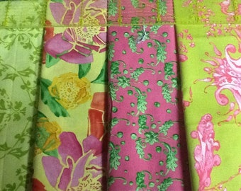 lot 4 TINA GIVENS PATCHWORK fabrics