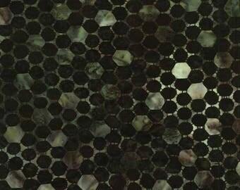 patchwork BATIK Anthology 11525 honeycomb fabric