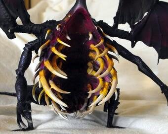 "Gaping Dragon Dark Souls 1 Boss 12"" Statue 3D Print High Detail Hand Painted"