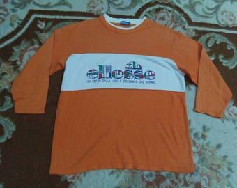 vintage ELLESSE sweatshirt spell out size M