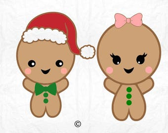 baby gingerbread christmas  SVG Clipart Cut Files Silhouette Cameo Svg for Cricut and Vinyl File cutting Digital cuts file DXF Png Pdf Eps
