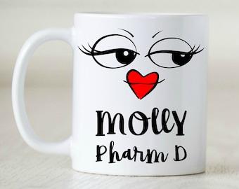 Pharmacy Gift, Pharmacy Mug, Pharmacist, Pharm D. Rx, Pharmacy Grad, RPH, Pharmacy Week, Funny Pharmacy
