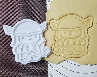 Thor Cookie Cutter and Stamp