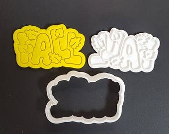 Fall  Cookie Cutter and Stamp