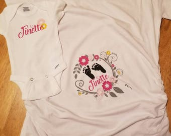 Mommy and me shirts!