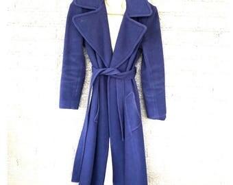 Vintage Blue Peacoat