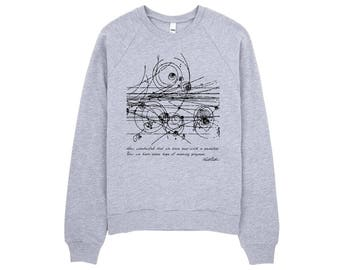 Bohr and Particles Collision sweatshirt