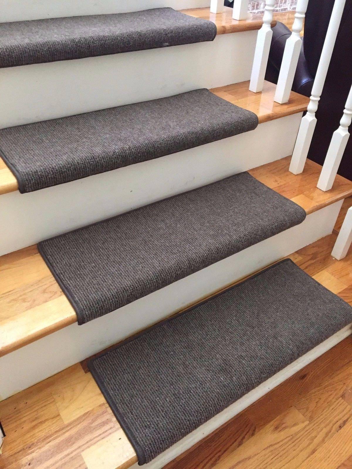 Bristol Dark Brown New Zealand Wool True Bullnose Carpet