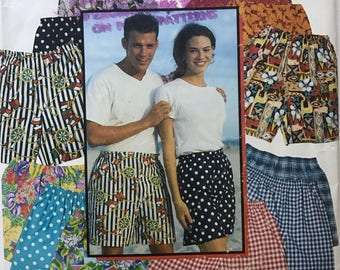 Vintage 90's Simplicity 0653 Shorts Sewing Pattern