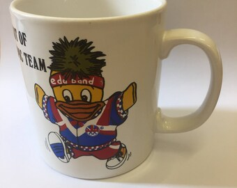 1992 Vintage Edd the Duck Olympic Mug
