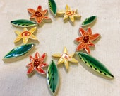 Autumn Flowers Handmade C...