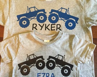 Monster truck shirts