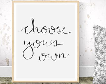 Custom calligraphy, custom lettering, custom type, custom print, personal quote, bespoke, wall décor, handmade type, home, craft, ink, gift