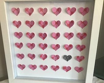 Valentines Day Heart frame