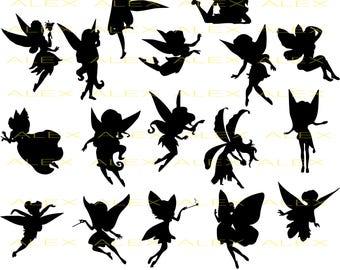70% OFF, Fairy SVG, Fairy Silhouette png, eps, svg, dxf, Fairy Clipart, Fairies SVG Files, Fairy Vinyl, Fairy Vector files