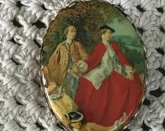 1950's Beautiful Victorian Brooch pin