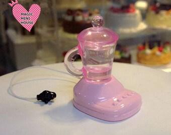 Dolls House Miniature Pink Mixer