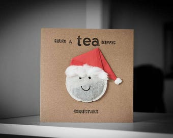 Have A Tea-Riffic Christmas Greeting Card