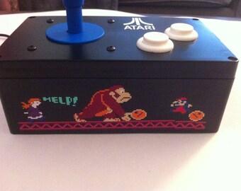 Special Edition Donkey Kong Atari Pro CX-1000 Arcade Joystick.  Atari 7800/2600