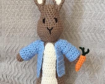 Handmade Crochet Bunny Toy