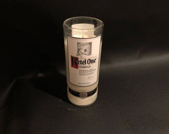 1 Liter Ketel One Candle Vodka Bottle Soy Candle. 1 Liter vs 750ML Made To Order !!!!!!!