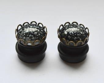 Mini stone plugs 10mm one-offs -.